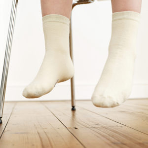 Socken aus Baumwolle sind immer vorzuziehen um Schweißfüße zu verhindern.
