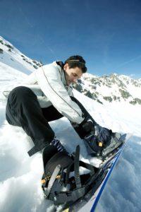 In Snowboardschuhen schwitzt man etwas weniger aber trotzdem sind auch hier Schweißfüße vorprogrammiert.