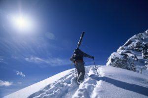Besonders in Skischuhen schwitzen die Füße - die richtigen Socken helfen dagegen.