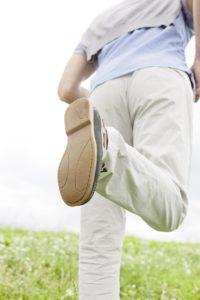 Das richtige Schuhwerk beim richtigen Wetter erspart einem Schweißfüße.